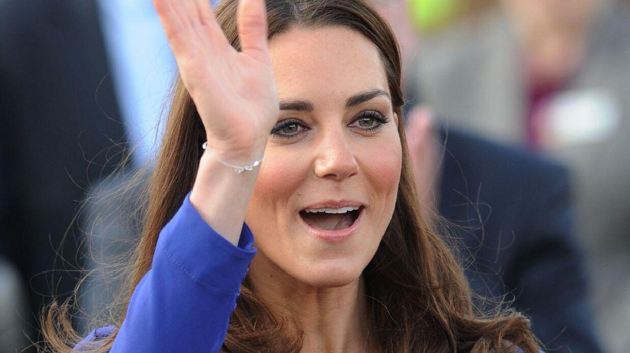 VIDEO Kate Middleton, très nerveuse, fait son premier discours