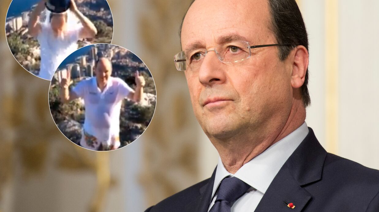 VIDEO Le prince Albert nomme François Hollande au Ice Bucket Challenge