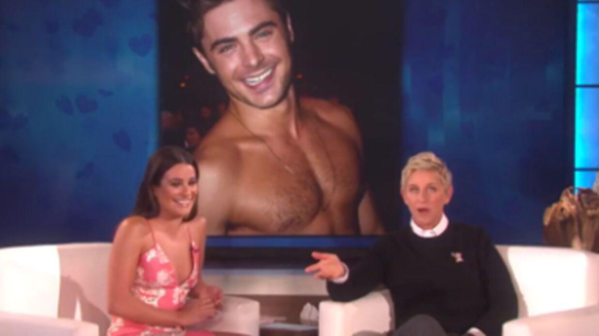 VIDEO Lea Michele a un GROS crush pour Zac Efron
