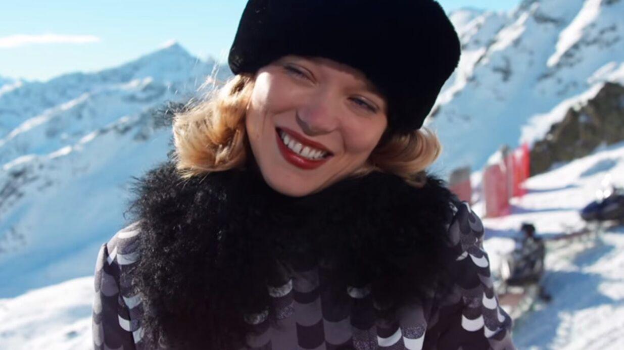 VIDEO Les premières images de Léa Seydoux en James Bond Girl