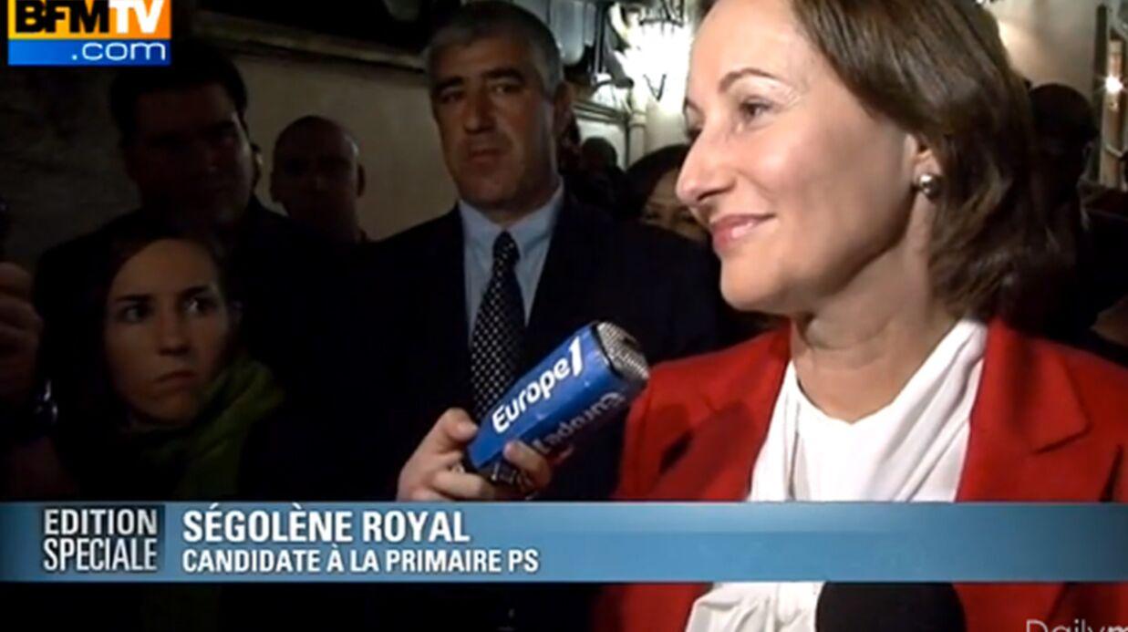 VIDEO Les larmes de Ségolène Royal