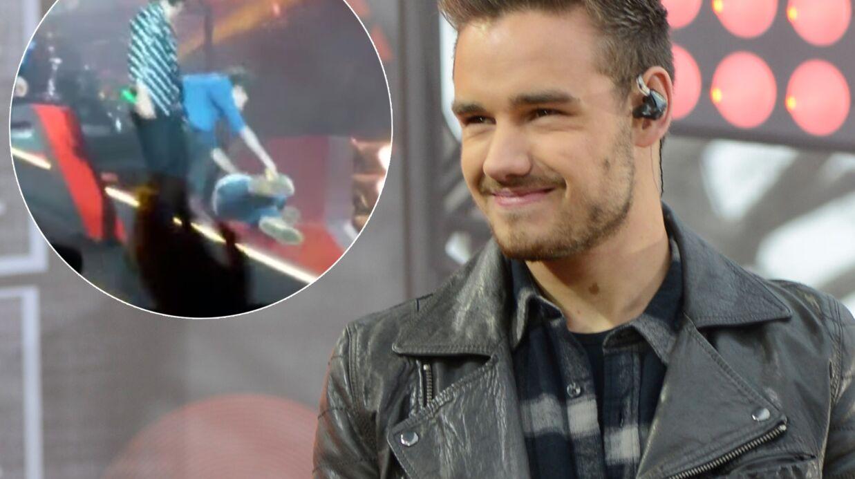 VIDEO Liam Payne (One Direction): son gros gadin sur scène