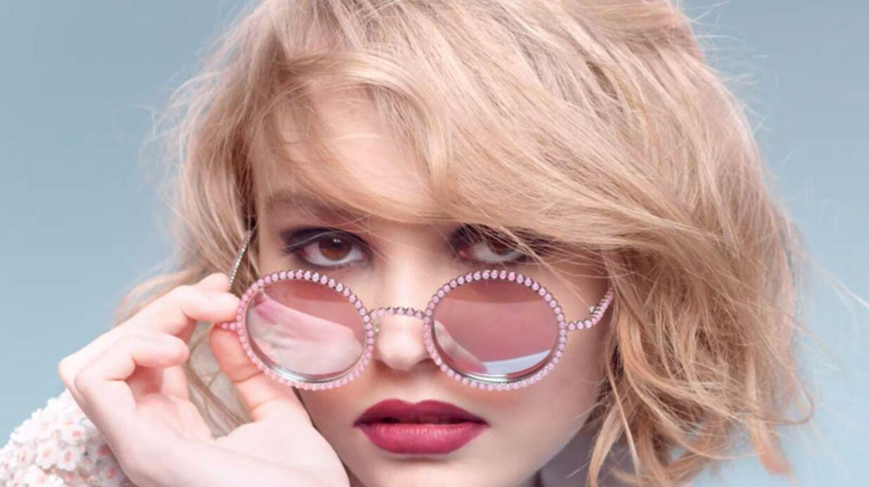 VIDEO Lily-Rose Depp: la fille de Vanessa Paradis devient égérie Chanel
