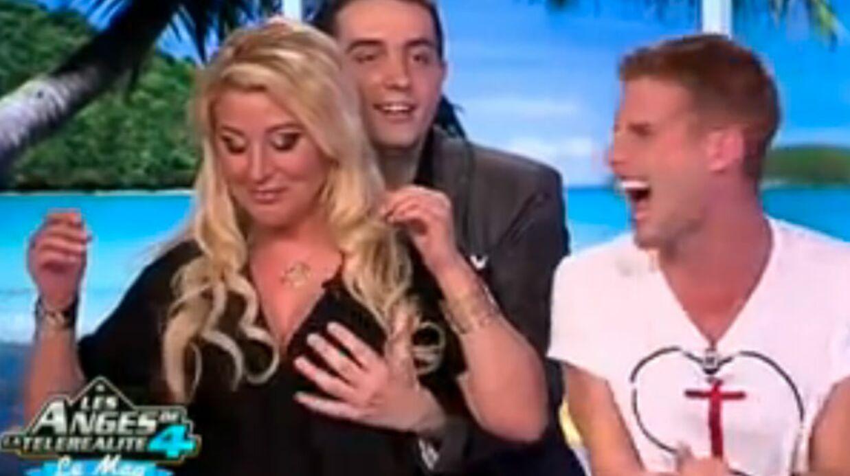 VIDEO Loana se fait masser les seins par Ludovic (La Belle et ses princes)