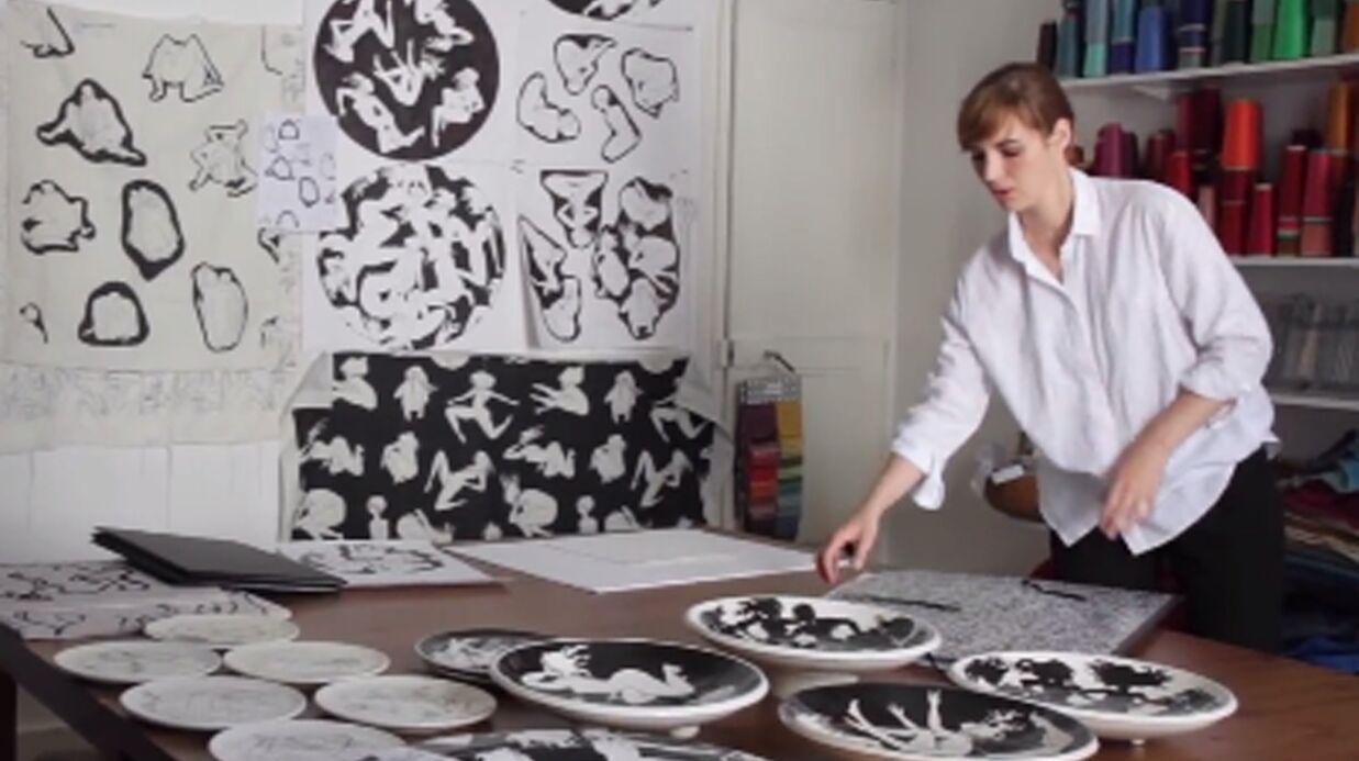 VIDEO Louise Bourgoin: ses dessins érotiques utilisés par une grande maison de luxe