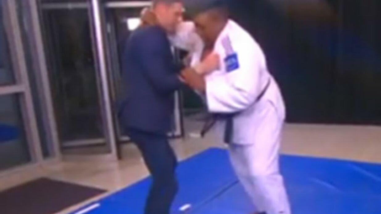 VIDEO Matthieu Delormeau se fait démolir en direct par une judokate dans TPMP