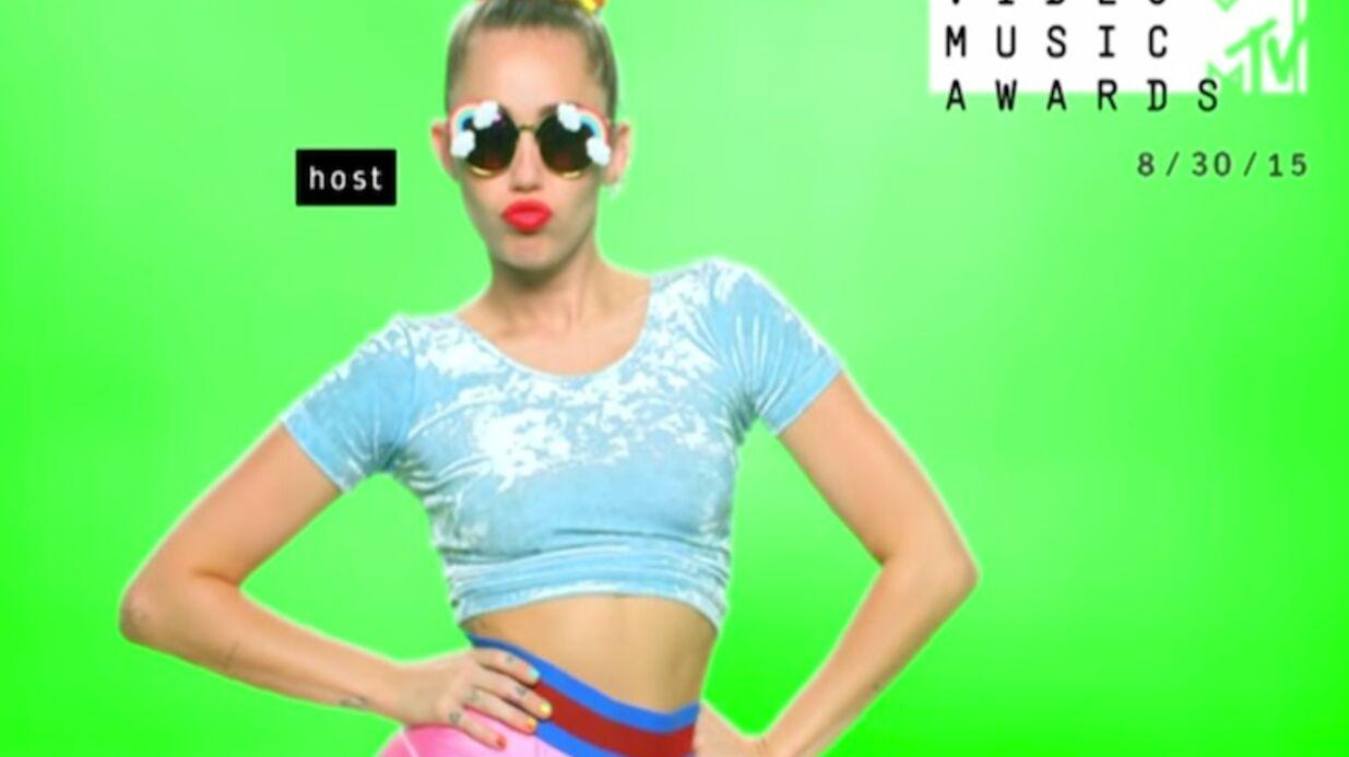 VIDEO Miley Cyrus: la chanteuse enfume le clip promo des MTV Video Music Awards