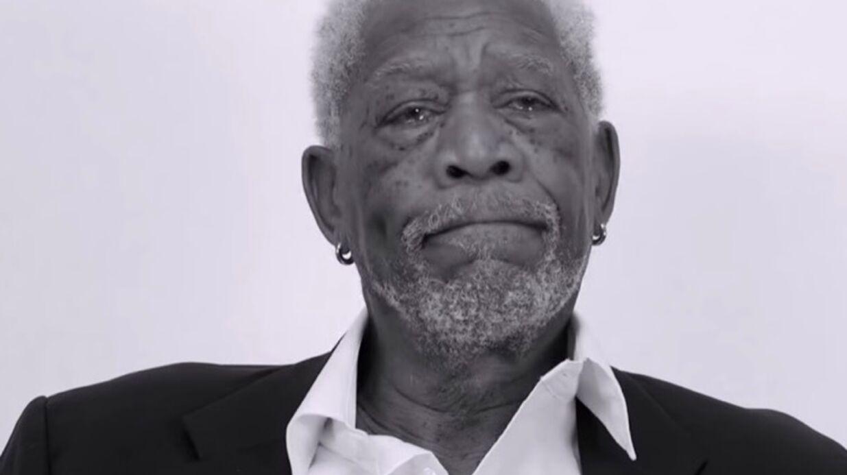 VIDEO Morgan Freeman donne sa version SUPER dramatique de Love Yourself de Justin Bieber