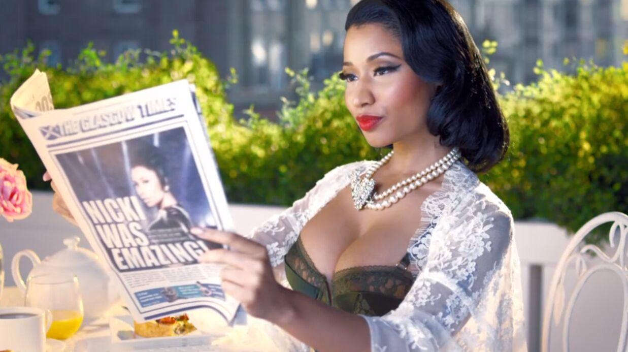 VIDEO MTV EMA 2014: Nicki Minaj va vous en mettre plein la vue