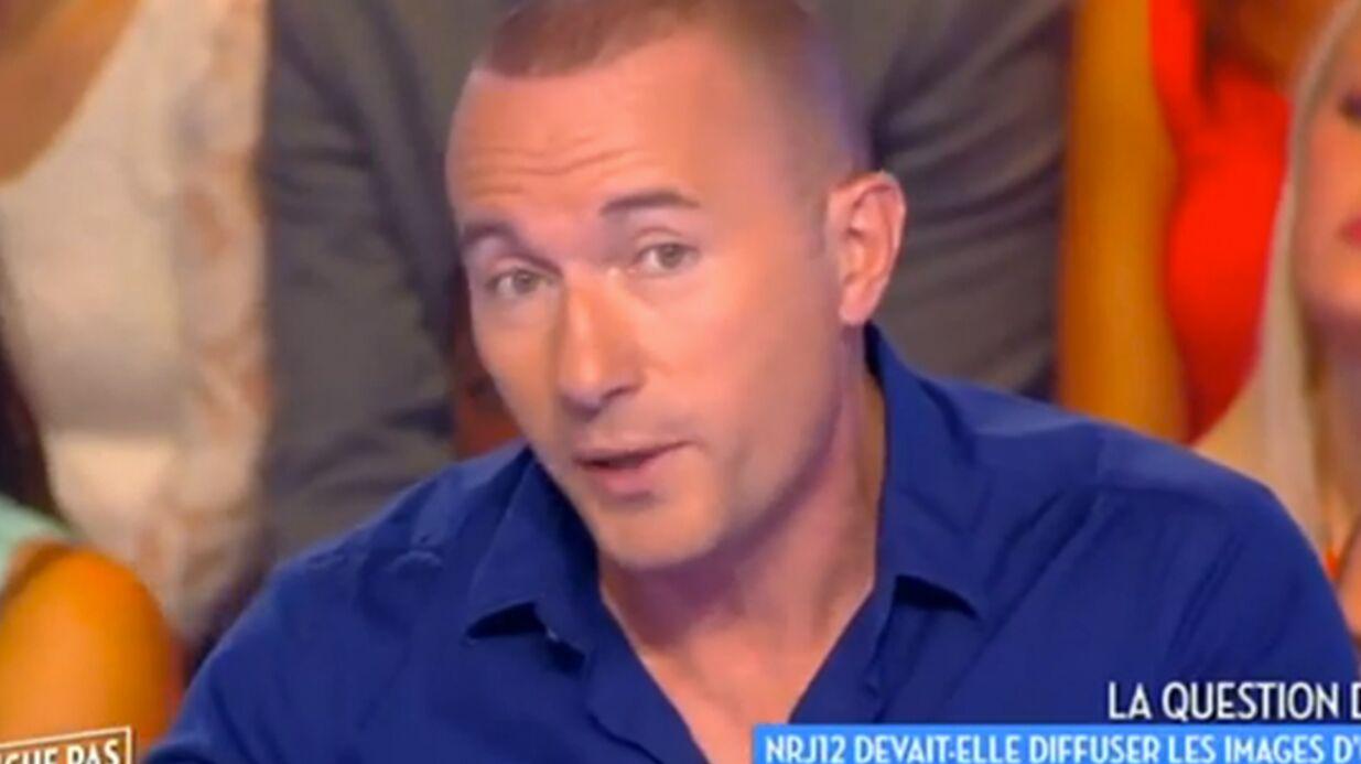 Pascal Soetens raconte le coup de poignard qu'il a failli se prendre sur un tournage
