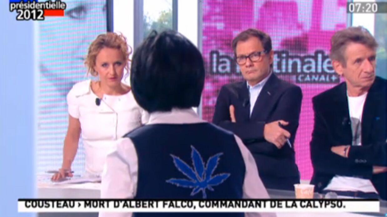 Rachida Dati fait la promo du cannabis à la télé