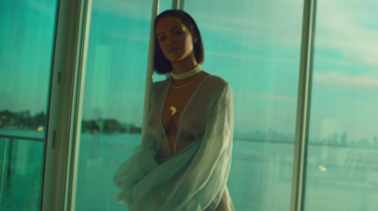 VIDEO Rihanna: poitrine à l'air, elle fait monter la température dans son dernier clip