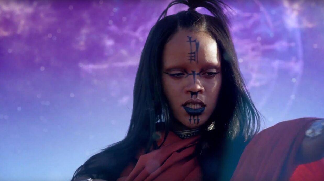 VIDEO Rihanna joue les princesses tribales dans le clip de Sledgehammer
