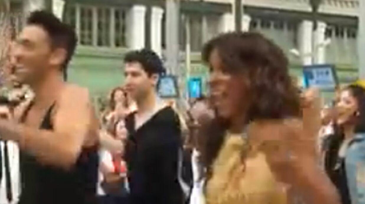 VIDEO Shy'm danse dans le hall de la gare de Lyon