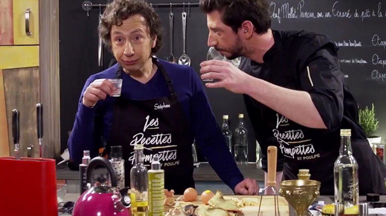 VIDEO Stéphane Bern cuisine ivre dans la bande-annonce des Recettes Pompettes