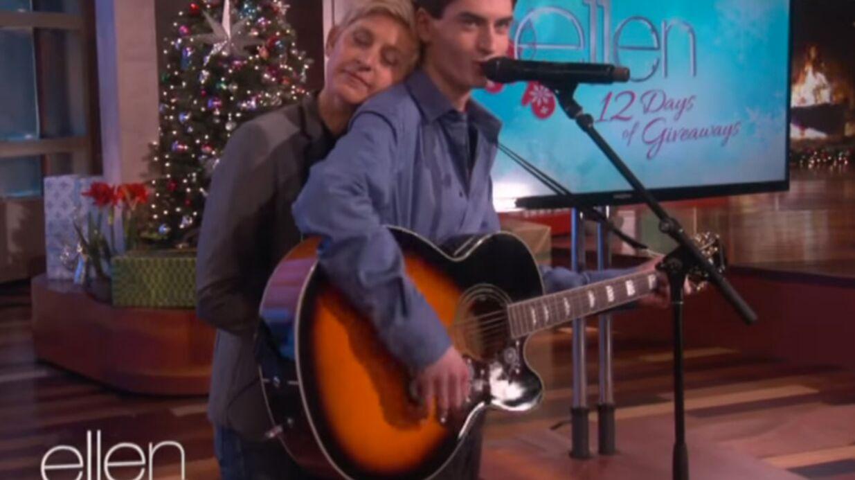 The Voice: David Thibault, le sosie vocal d'Elvis, a déjà séduit Ellen DeGeneres!