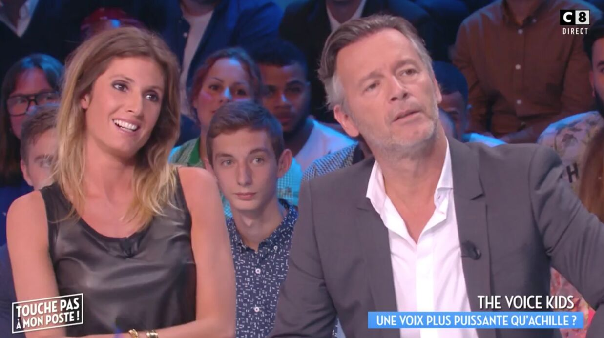 VIDEO TPMP: Caro­line Ithur­bide craque pour un coach de The Voice