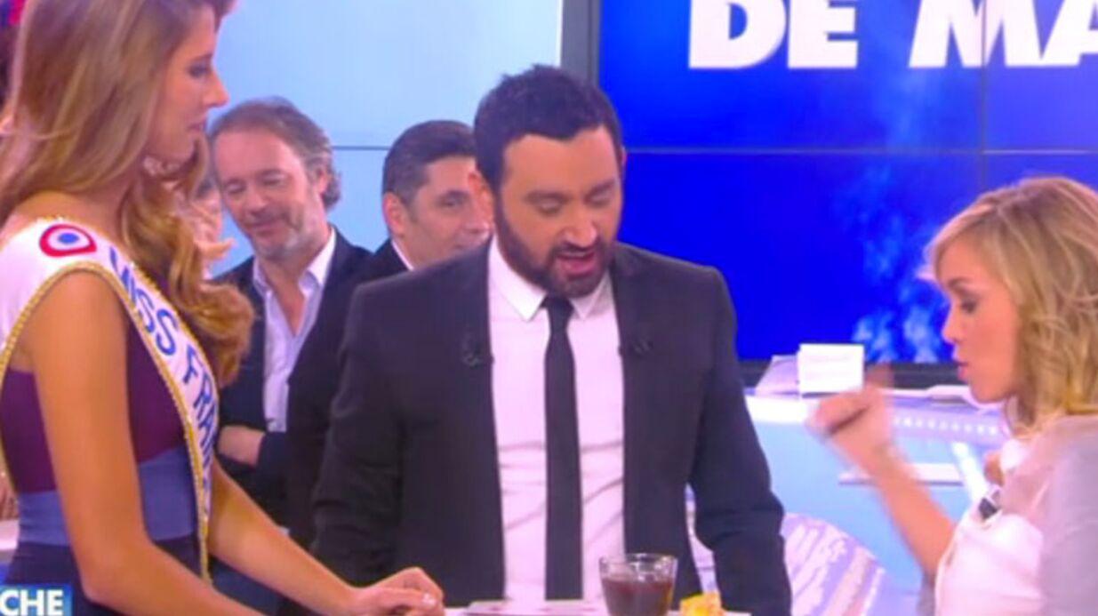 VIDEO Miss France 2015: Bataille sexy de maroilles dans TPMP