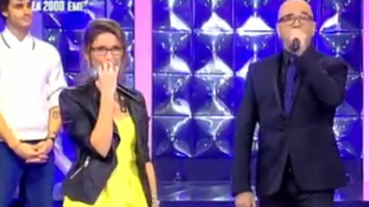 VIDEO N'oubliez pas les paroles: Pascal Obispo arrive par surprise, tout le monde fond en larmes!