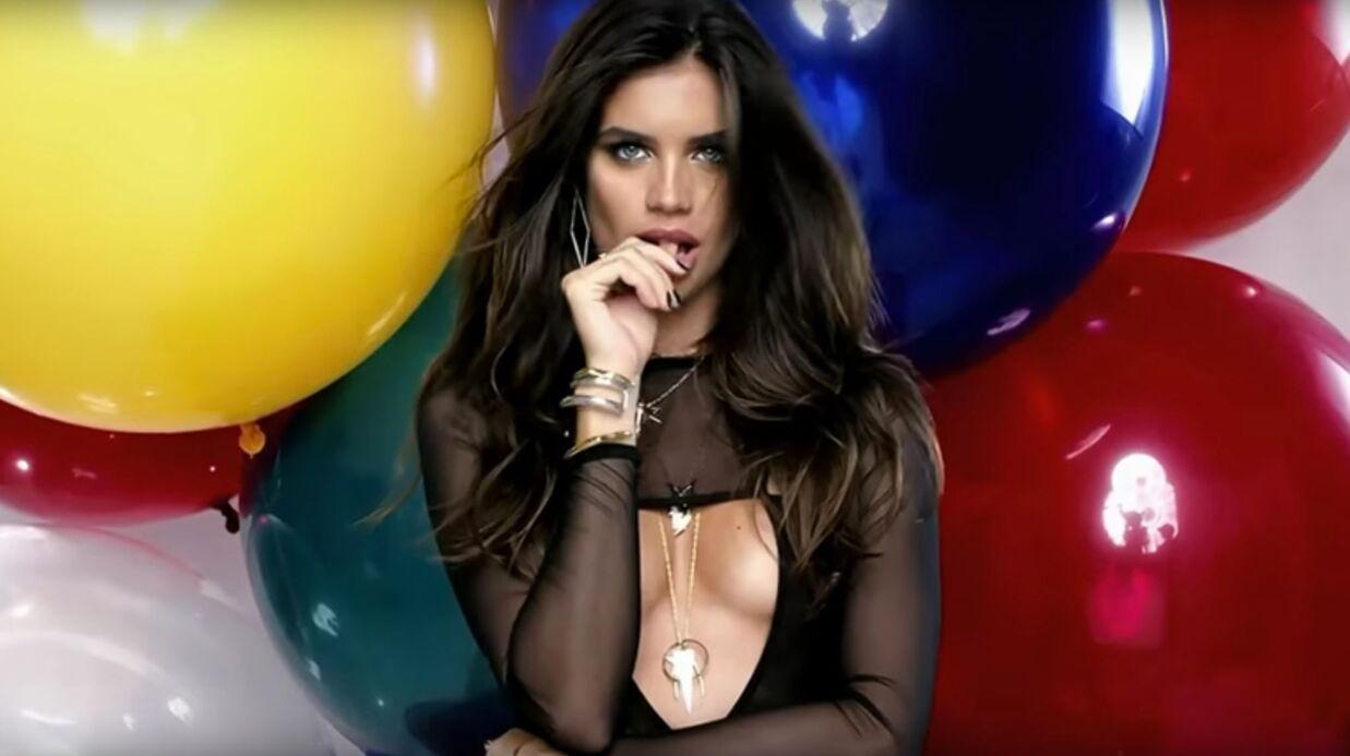 VIDEO Sara Sampaio, est la star TRÈS SEXY du jour du calendrier LOVE!