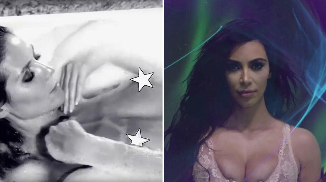 VIDEOS Heidi Klum toute nue, Kim Kardashian en lingerie sexy pour le calendrier LOVE