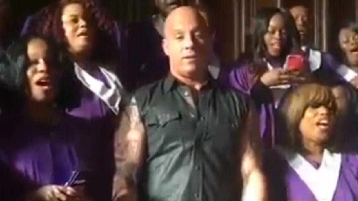 VIDEO Vin Diesel chante Oh, Happy Day avec une chorale et c'est très faux