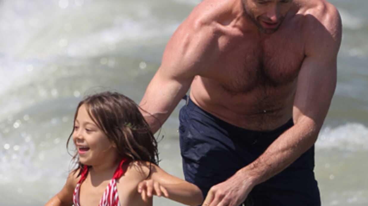 DIAPO Hugh Jackman s'éclate en famille à Saint-Tropez