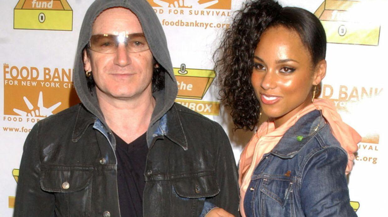 Alicia Keys fait très peur à Bono