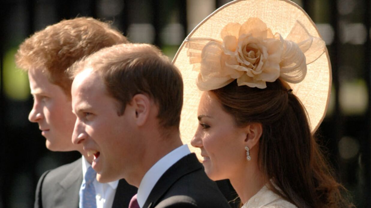 William, Kate et Harry a fond pour les J.O.