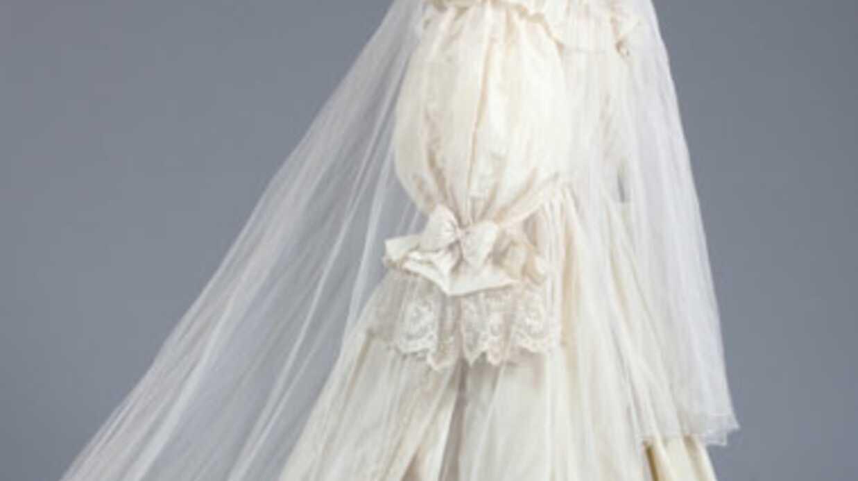 La (presque) robe de mariage de Lady Di vendue aux enchères