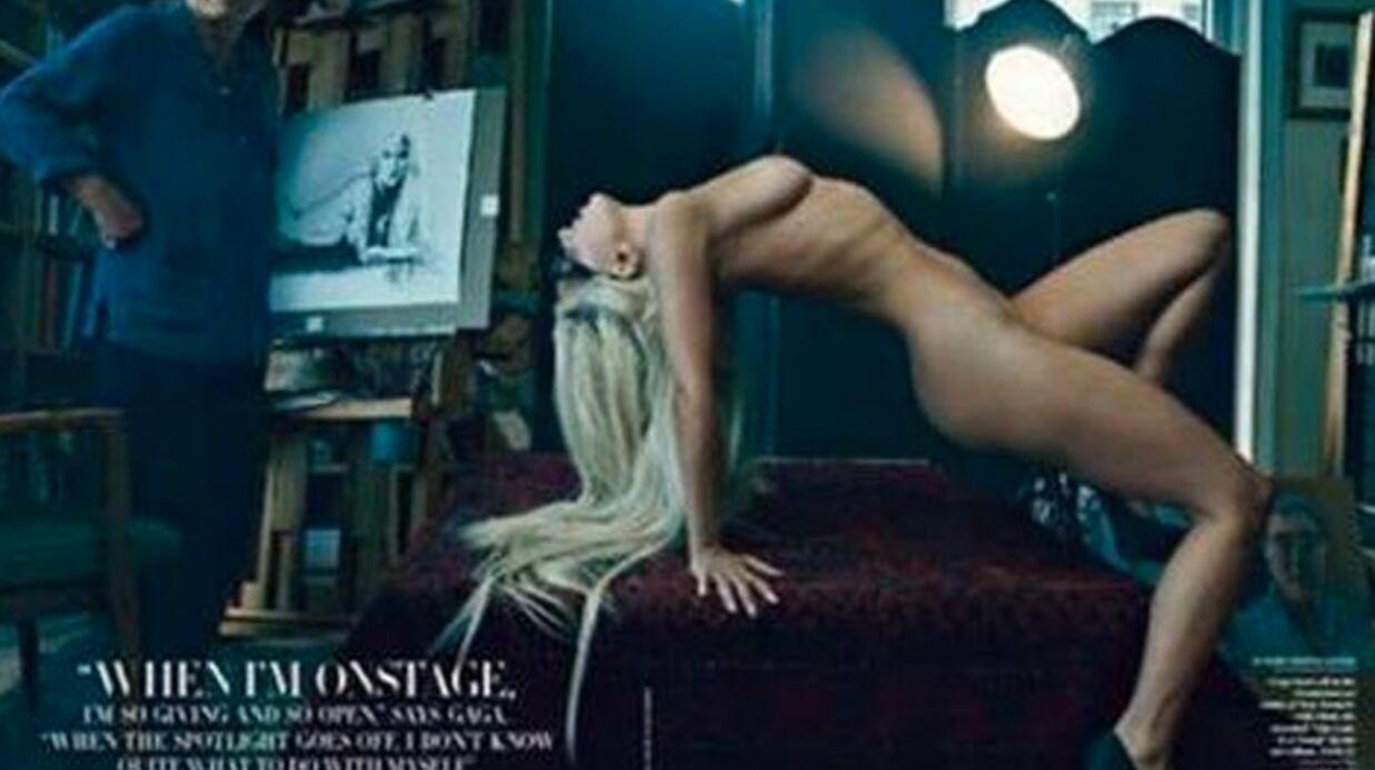Lady Gaga: nu intégral dans Vanity Fair