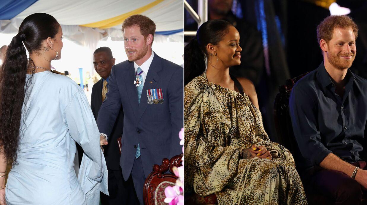 PHOTOS Le prince Harry avec Rihanna à la Barbade: un beau moment de complicité