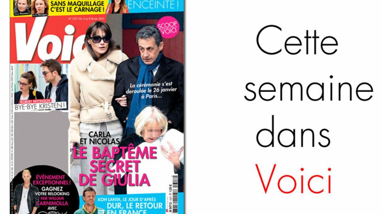 Nicolas Sarkozy et Carla Bruni ont fait baptiser Giulia à Paris
