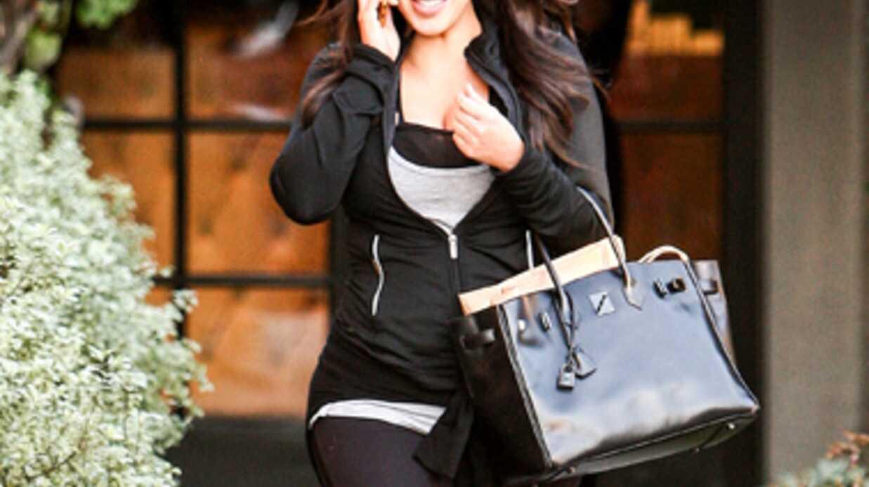 PHOTOS Les premières rondeurs de Kim Kardashian