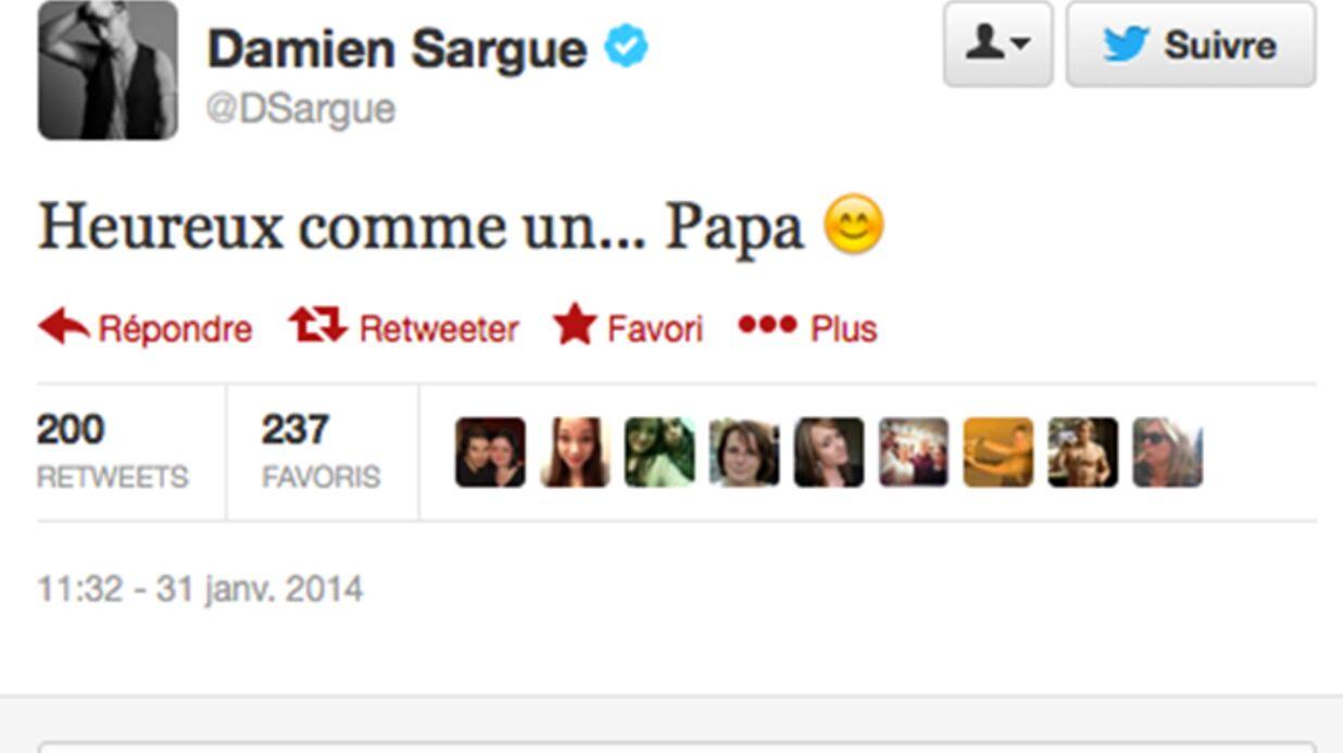 Damien Sargue (Roméo et Juliette) papa pour la première fois