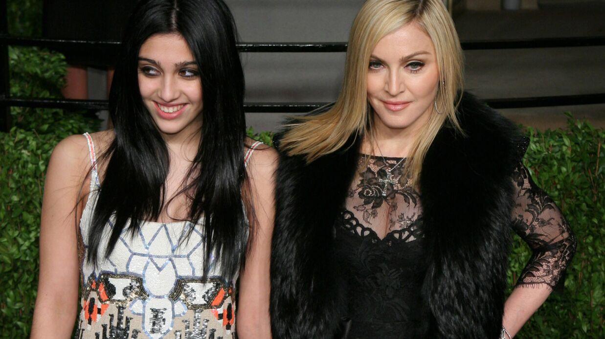 PHOTO Madonna: sa fille Lourdes la copie et affiche ses aisselles poilues