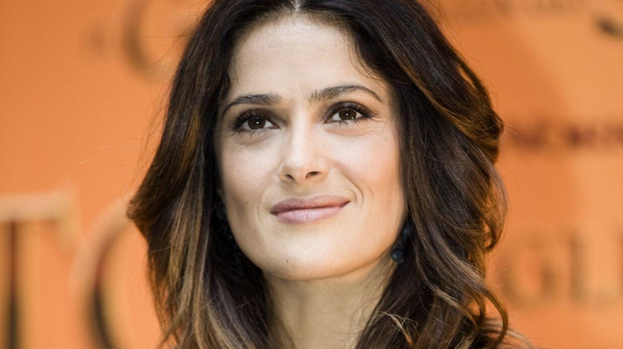 Salma Hayek: la bombe latine promue chevalier de la Légion d'honneur