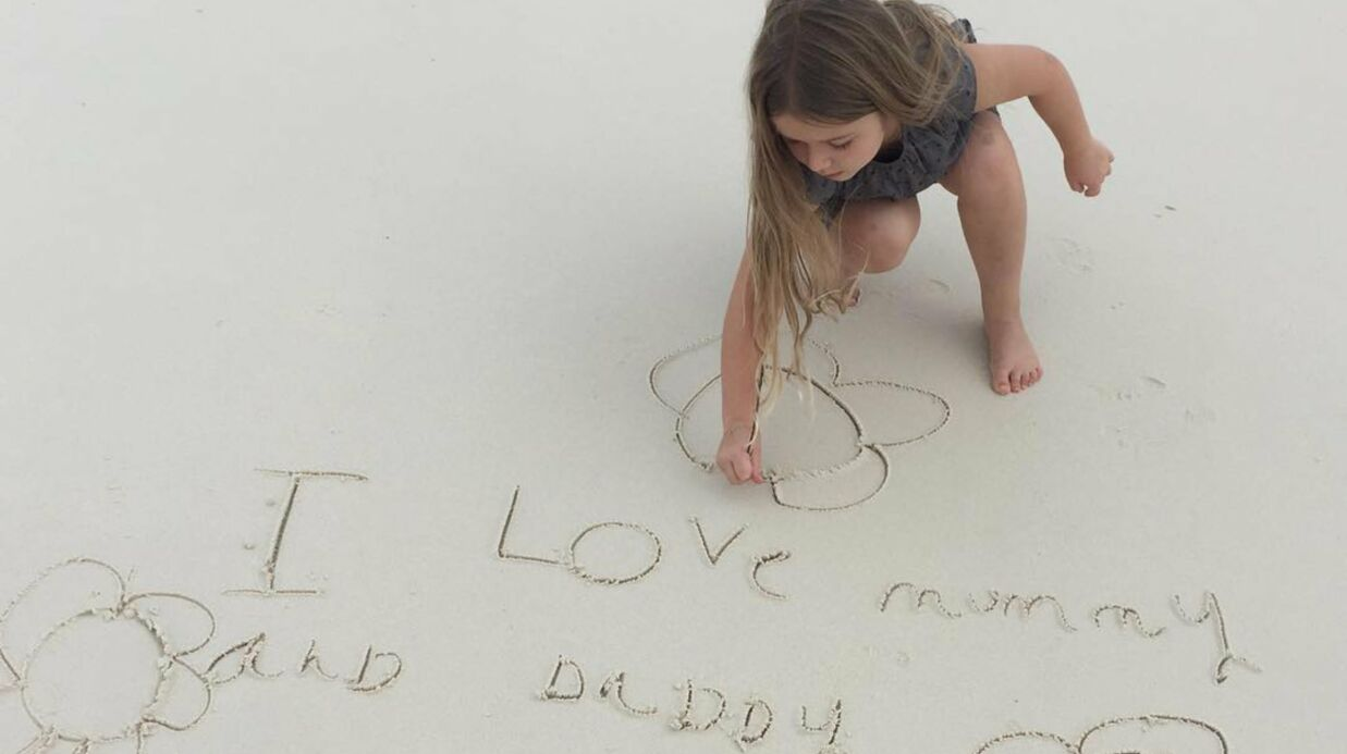 PHOTO Victo­ria Beck­ham : un adorable message de sa fille Harper fait fondre les inter­nautes