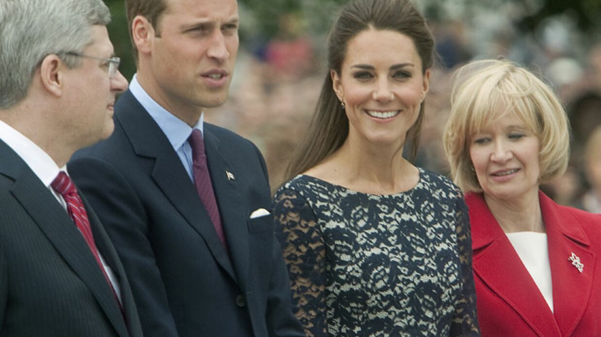 Kate et William très applau­dis au Canada