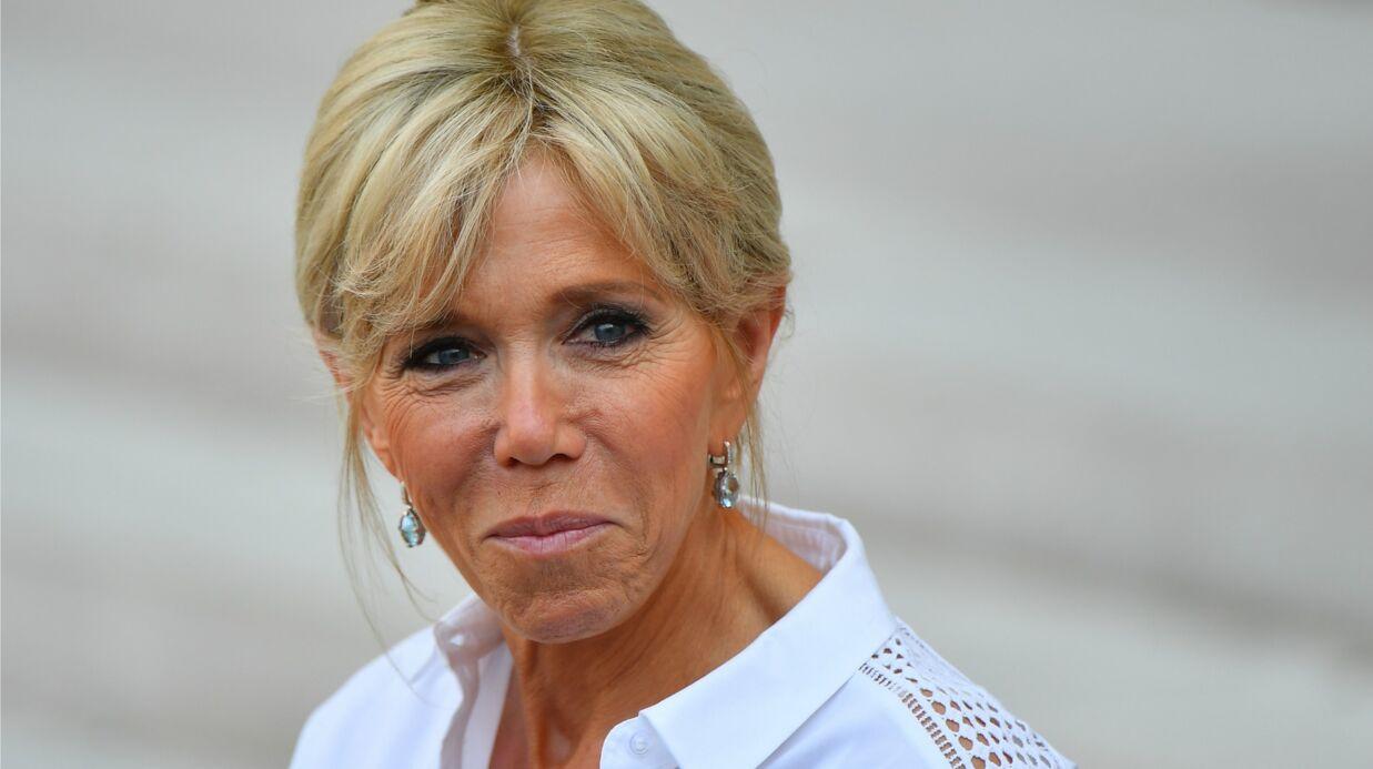 Brigitte Macron fan du portrait de son mari: «Le plus beau président de la Vème!»