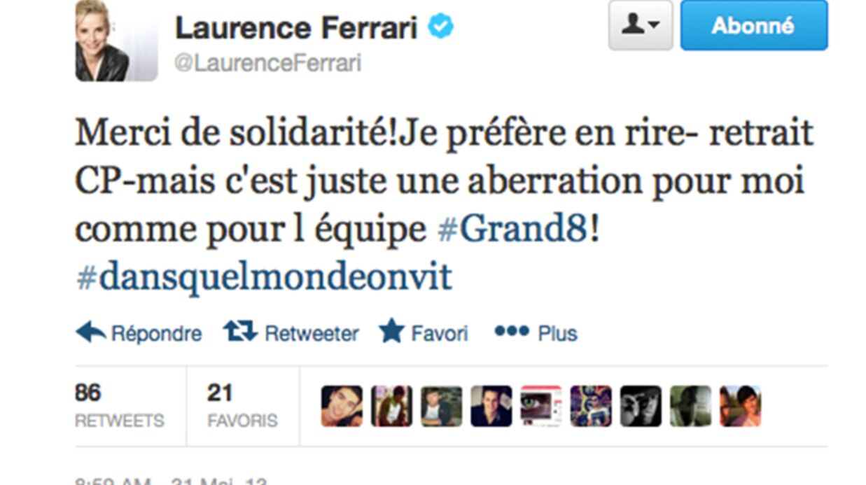 Laurence Ferrari ne peut plus avoir de carte de presse