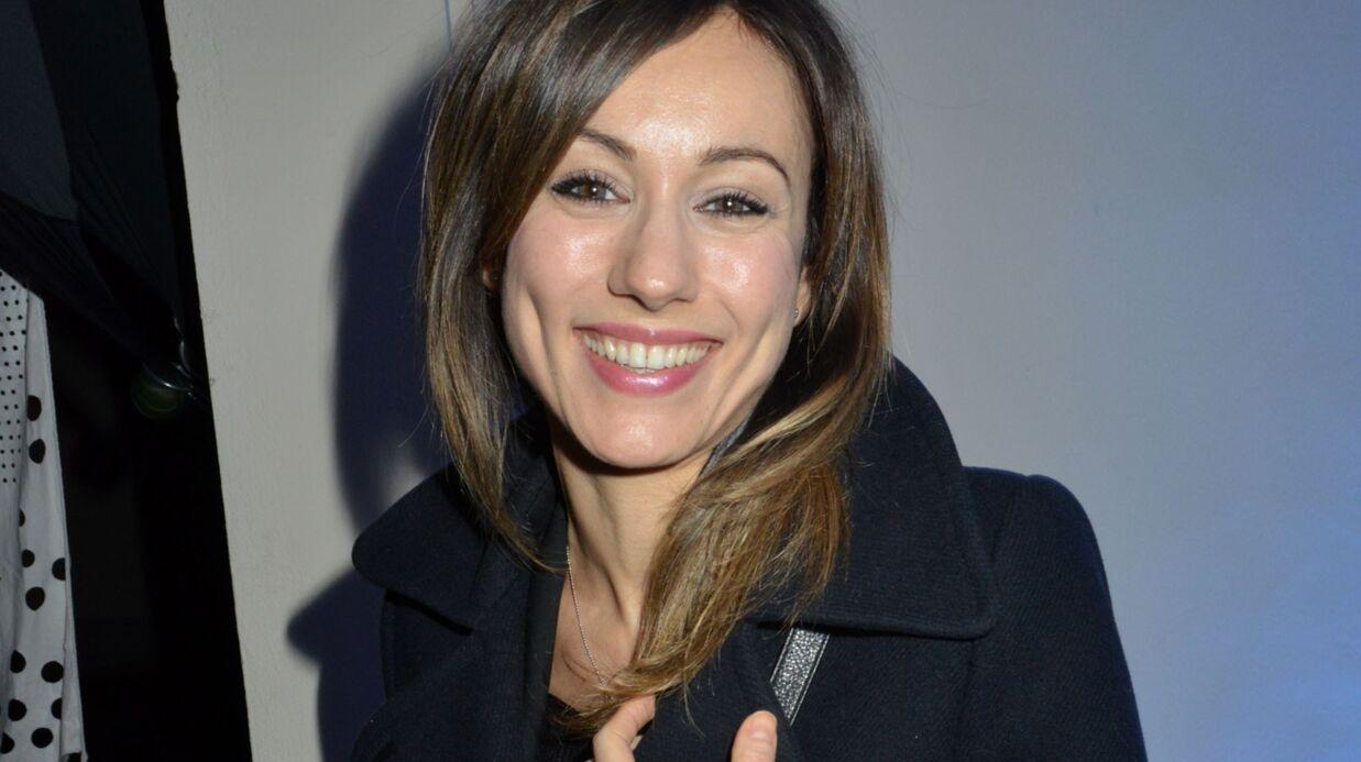 Marie-Ange Casalta est enceinte de son deuxième enfant