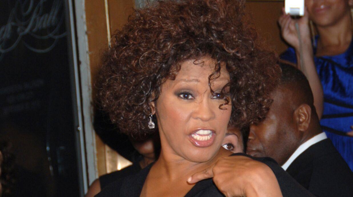 Whitney Houston: une carte de vœux fait scandale