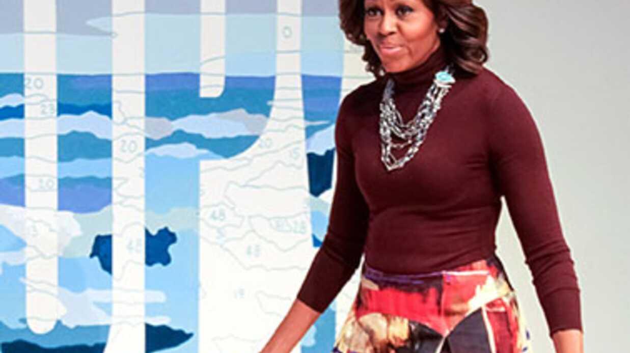 Michelle Obama guest star d'une série américaine