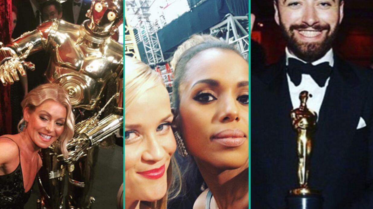DIAPO Instas et selfies: les Oscars 2016 vus par les stars
