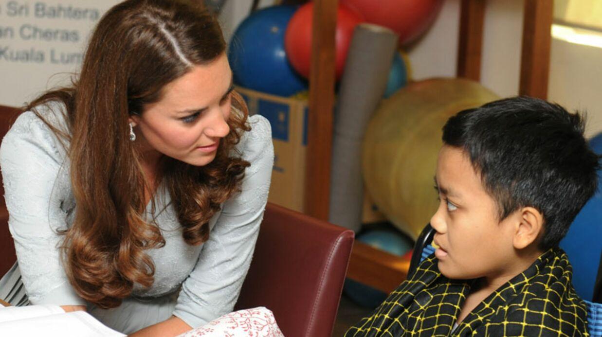 Kate Middleton «très attristée» par la mort d'un ado