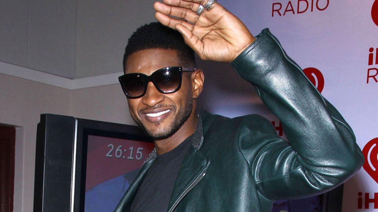 Usher met son ex-femme à la rue