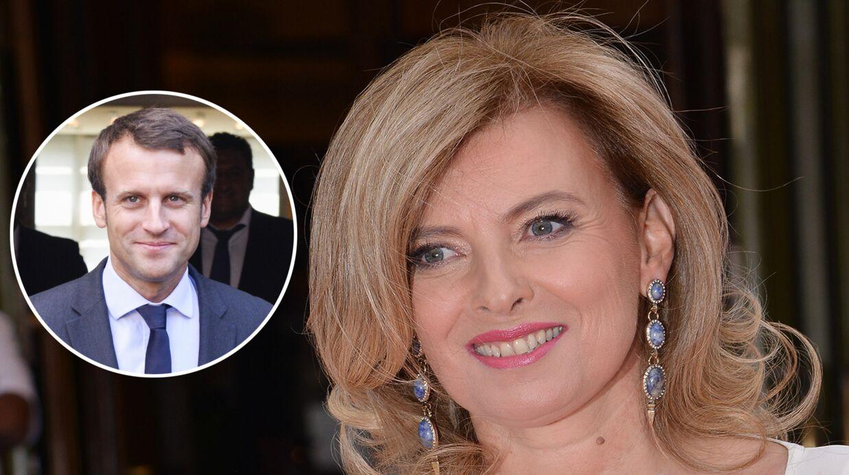 Valérie Trierweiler: dans l'ombre, elle aurait apporté son soutien à Emmanuel Macron
