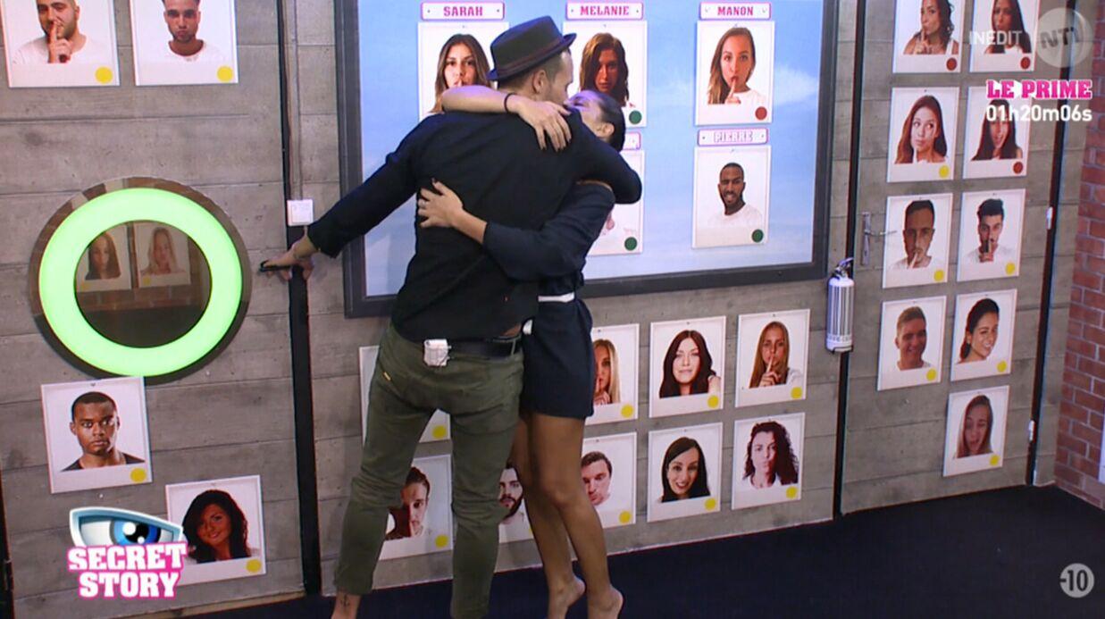 Secret Story 10: Sophia et Bastien s'embrassent devant Julien, cocu mais content
