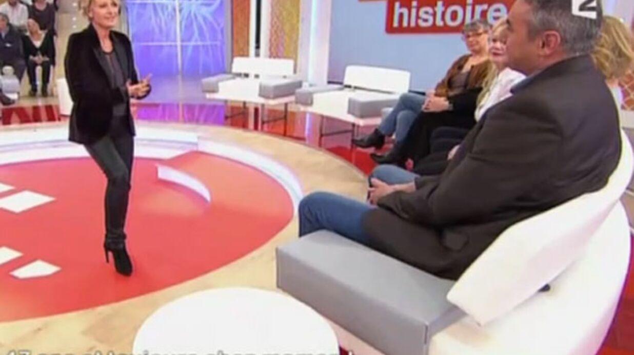 VIDEO Sophie Davant se fait draguer par l'un des invités de «Toute une histoire»